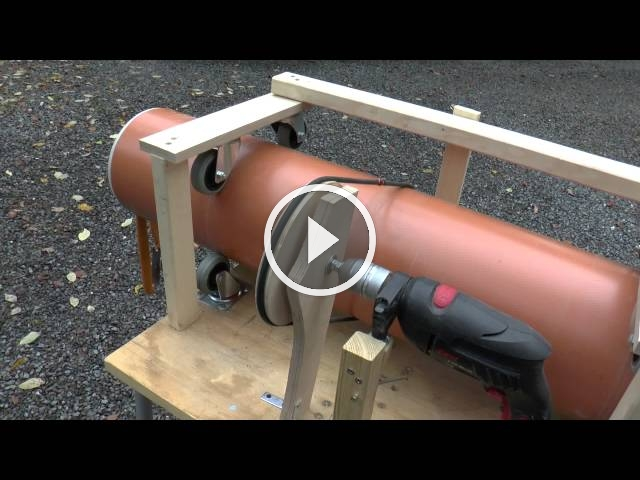 how to make a pvc pipe rifled