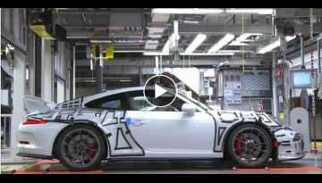 How it's made Porsche GT3