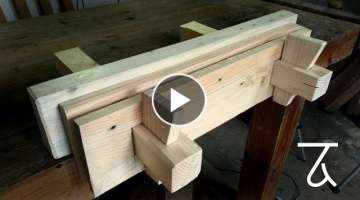 Wedge Powered Moxon Vice - Woodworking Project - Tool Build