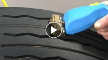 The idea for a business. Recovery of tires of trucks. How to repair the tread on a car tire