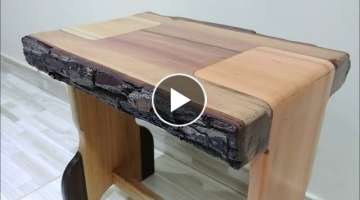 6 Kinds of Rustic and Modern Benches with Trees