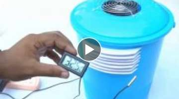 How to make air conditioner at home