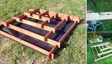 DIY Pyramid Planter