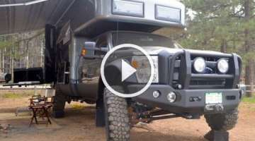 EarthRoamer XV-LTS F-550 Off-Road RV: Ultimate Zombiepocalypse Luxury Ride