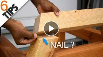 6 Woodworking tips & tricks for beginners