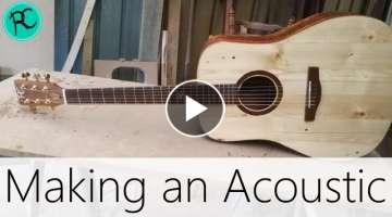 Making an Acoustic Guitar - Super Fast
