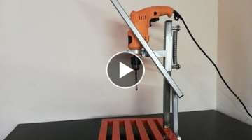 Making Drill Press