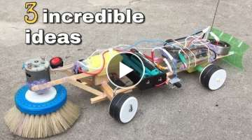 3 incredible Homemade inventions and ideas