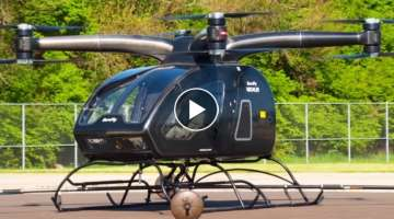 SureFly The Personal Hybrid-Electric Helicopter/EVTOL Has Taken Flight