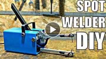 CHEAP Spot Welder DIY (using simple tools)