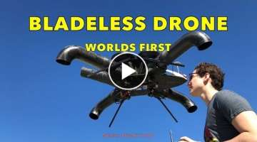 Bladeless Drone: First Flight