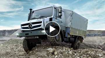 Mercedes Unimog: The Most Capable & Extreme Off Road 4x4 Vehicle in the world.