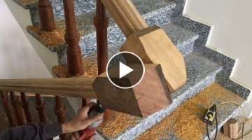 How To Make Curved Railing For Wood Stairs