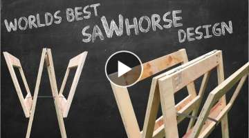 Making New and Unique Sawhorse Design Concept