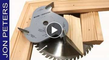 Make Molding with the Table Saw & Build a Picture Frame