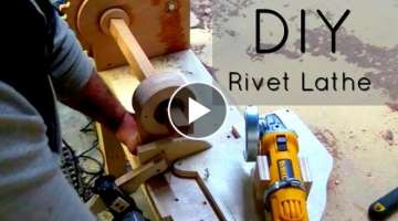 DIY - Homemade lathe with wood gears