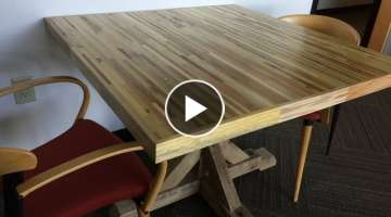 Office Meeting Table From Pallets - Pallet Up Cycle Challenge