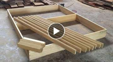 DIY - Modern Wall Storage Cabinets | Woodworking Project | How To Build and Install