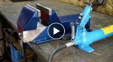 Making The Hydraulic VISE DIY