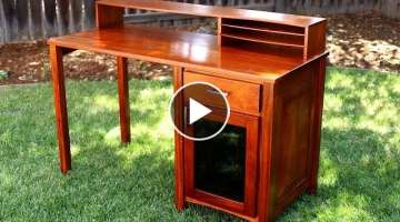 Building a Mahogany Desk! | Woodworking