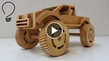 Making a Wooden Monster Truck