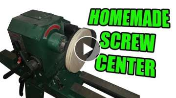 Homemade Screw Center for the Wood Lathe