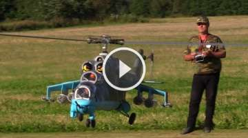 RC Giant Helicopter MI-24
