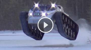 Ripsaw EV2 its ridiculous. video speaks for itself. busted knuckles mega truck madram11