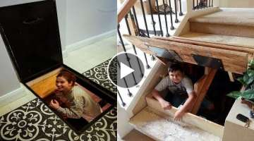 INCREDIBLE AND INGENIOUS Hidden Rooms AND SECRET Furniture # 3