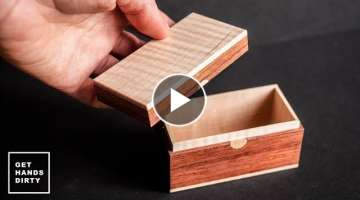 Small Wooden Box // Last Minute Gift Ideas