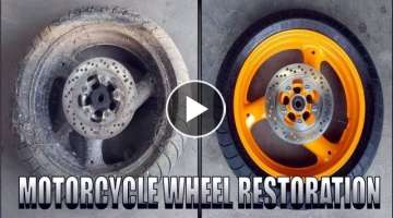Severely Neglected Wheel Restoration