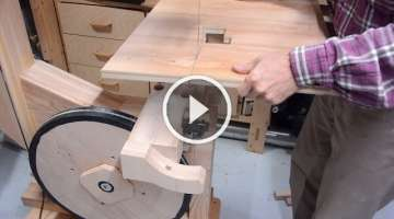 Big bandsaw build 5: Table and trunnions