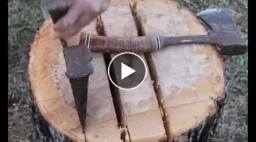 Making a Windsor Chair Leg