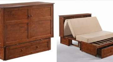 Night & Day Furniture Murphy Cabinet Bed
