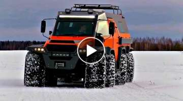 Russia's Best Off Road Vehicles for Hunting, Fishing & Expeditions