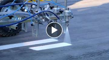 Amazing Road Marking & Road Painting Machines