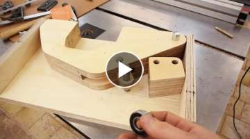 Compact Table Saw Part 1: Blade Lift Mechanism