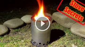 How To Make A Wood Gas Stove - Compact & Efficient!