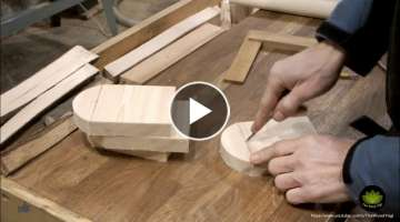 How to Make Small Parallettes for Yoga - Woodworking Project