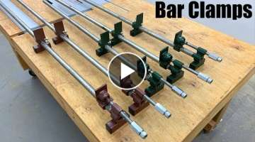 Long Bar Clamps Homemade