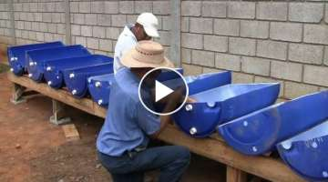 A Time Lapse View of an Aquaponics System Build