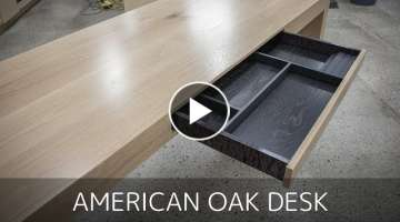 American White Oak Office Desk