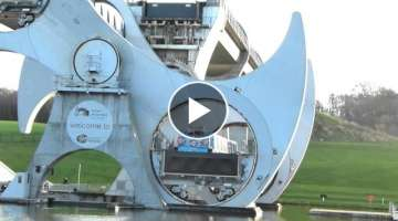 The Falkirk Wheel (boat lift)