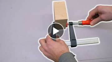 Easy Trick to make your Clamps Clamp Harder