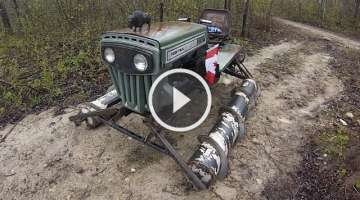 Screw Drive Vehicle - Extreme Off Road