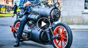 7 Crazy and Insane Motorcycles You Have To See