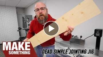 No Jointer? No problem! Do you Even Need One? | Woodworking Tip