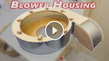 Building a Big Dust Collector Blower