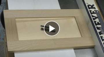 How to work with precision at router tables.