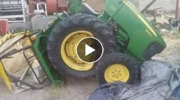 Best Tractor Fails and Stunts You Have Never Seen 2017